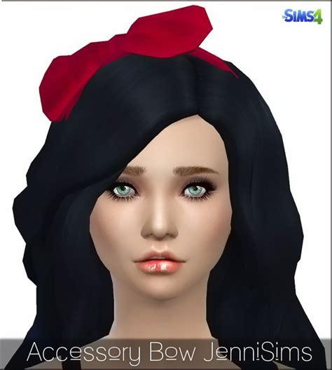 bow eye hair accessory at jenni sims 187 sims 4 updates bow headband at jenni sims 187 sims 4 updates