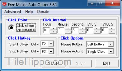 Auto Clicker 2 0 Free Download by Download Free Mouse Auto Clicker 3 8 5 Filehippo