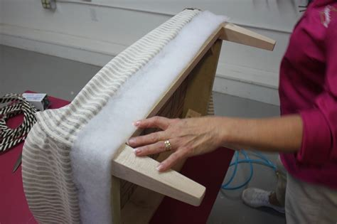 upholstery diy ottoman kim s upholstery upholstery services online classes