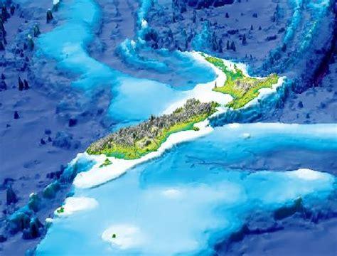D D Floor Plans by Undersea New Zealand Ocean Floor Science Topics