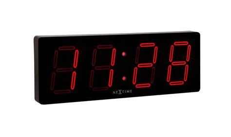 horloge digitale murale a pile horloge led guide d achat