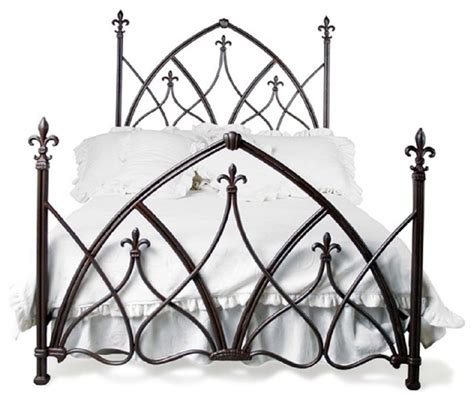custom gothic night bed panel beds   hudson road