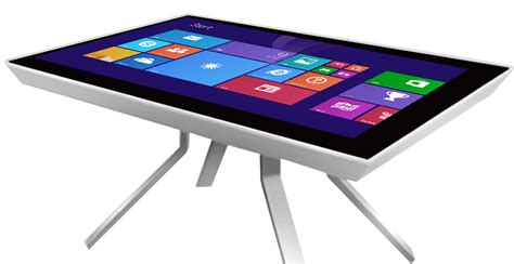 4k multitouch table multitouch tables and kiosks