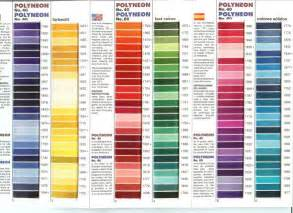 madeira thread color chart monograms fonts colors
