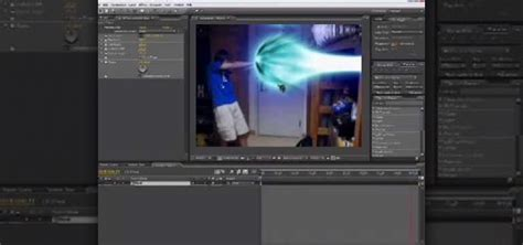 tutorial after effect energy ball how to create a kamehameha energy blast attack from