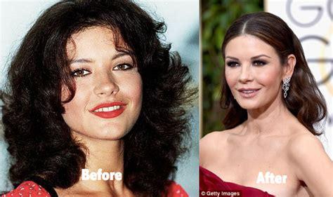 catherine zeta jones surgery catherine zeta jones plastic surgery before and after photos