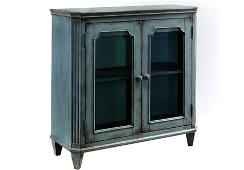 Teal Accent Cabinet mirimyn antique teal door accent cabinet louisville