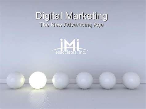 digital marketing ppt template digital marketing the new advertising age
