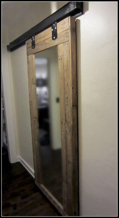 diy sliding bathroom door diy barn door barn doors and pallet wood on pinterest
