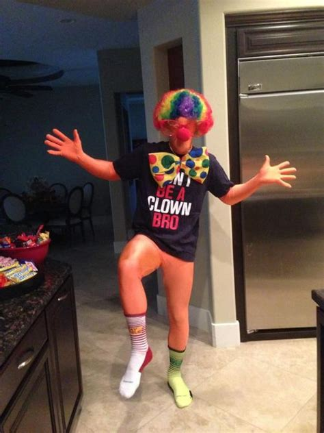 Tshirt Dont Be A Clown Bro nats enquirer bryce went as a clown for