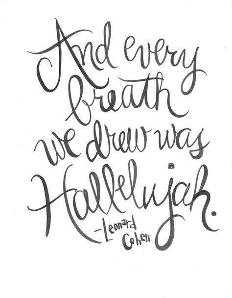 Wedding Song Drew Lyrics by And Every Breath We Drew Was Hallelujah Leonard Cohen