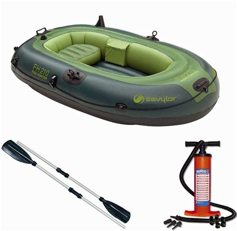 sevylor inflatable fishing boat sevylor fish hunter 210 inflatable fishing boat dingy