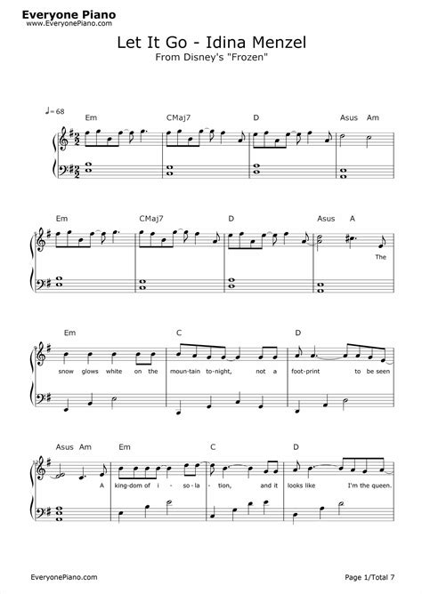 tutorial piano let it go let it go frozen piano sheet music letters frechel info