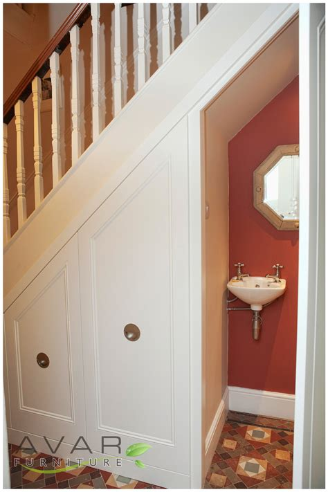 North bath toilet under stairs cross section pictures to pin on