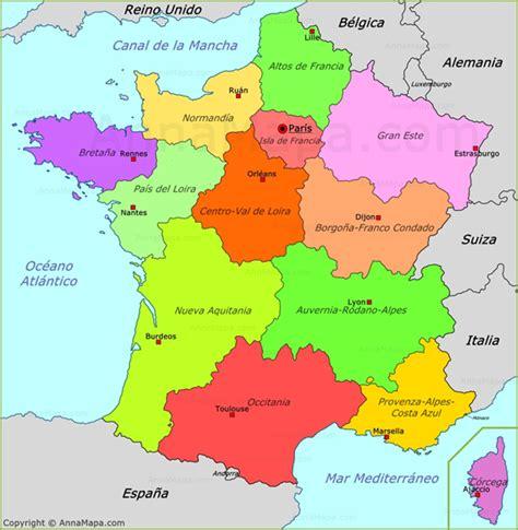 Imagenes Satelitales De Francia | mapa pol 237 tico de francia francia