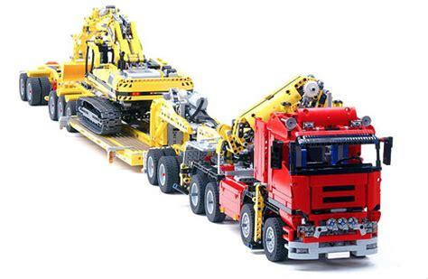 lego technic 8258 trailer | the lego car blog