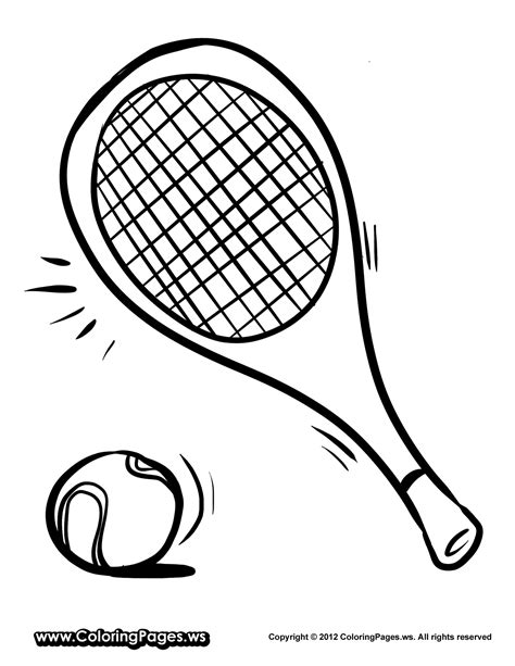 tennis color tennis coloring page getcoloringpages