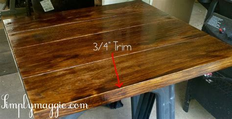 Kitchen Island With Chopping Block Top by Diy Wide Plank Butcher Block Counter Tops Simplymaggie Com