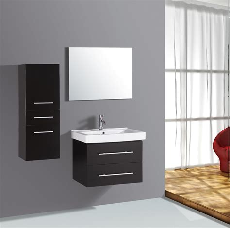 28 inch single wall mount bathroom vanity cabinet with