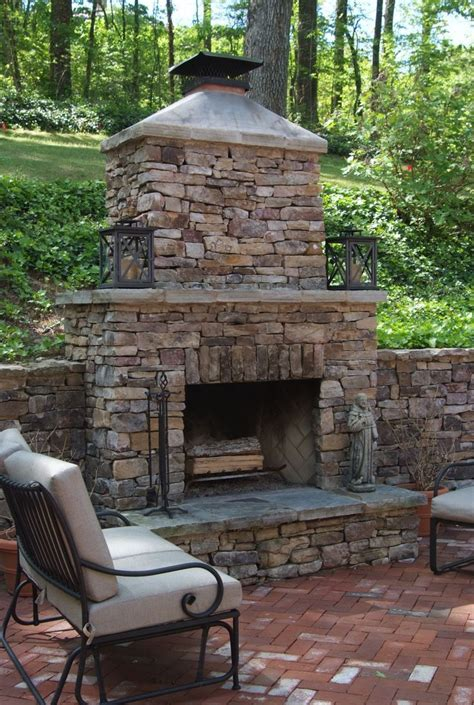 outdoor stone fireplace 17 best images about outdoor fireplace pictures on