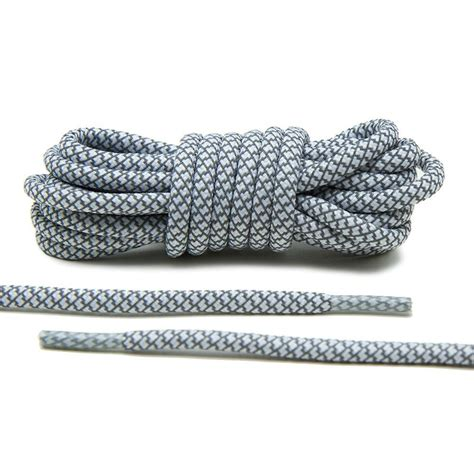 white  reflective rope laces shop  laces yeezy