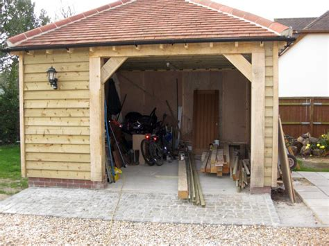 Oak Car Port by Bespoke Oak Car Port West Sussex Simply Carpentry