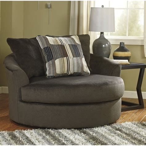 Signature Design By Ashley Furniture Westen Oversized Oversized Swivel Accent Chair