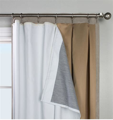 curtains outlet online thermalogic ultimate blackout liner for pinch pleats