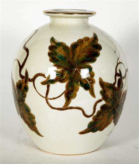 vase in limoges porcelain by camille tharaud at 1stdibs