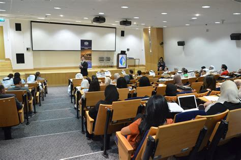 Of Mba Seminar In Leadership by Gust Mba Organize A Seminar By Equate Ceo Mohammed Hussain