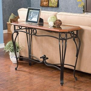 what is a sofa table tips on choosing a sofa table overstock