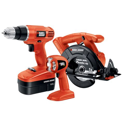 black decker tools shop black decker 3 tool 18 volt nickel cadmium cordless
