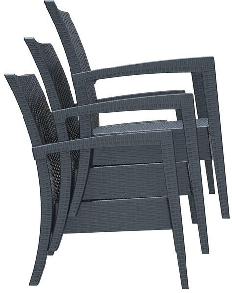 poltrone di plastica minorca poltrone e divani in plastica per esterni tonon