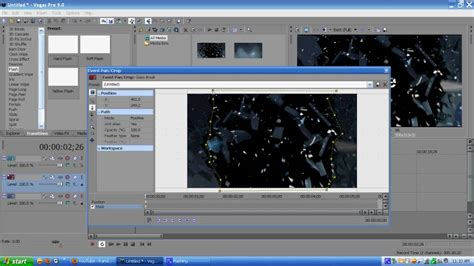 sony vegas pro basic tutorial sony vegas pro tutorial shattered glass intro youtube