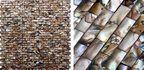 Shell Mosaic Tiles Cheaper Mother of Pearl Tile Backsplash