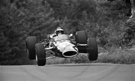 before formula 1 cars had wings they used to fly