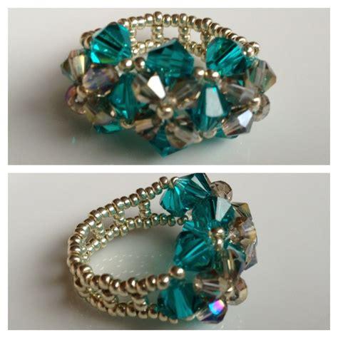 beaded rings tutorial 1000 ideas about beaded rings on peyote ring