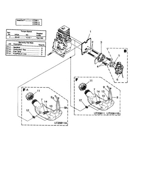 craftsman 32cc weedwacker fuel line diagram craftsman 32cc weedwacker trimmer fuel line routing