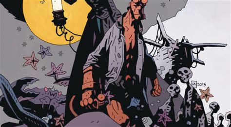 hellboy into the silent b06xkfwzcw hellboy into the silent sea new graphic novel impact comics