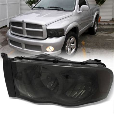 smoked headlights and lights dodge ram 3500 2003 2005 smoked headlights and lights