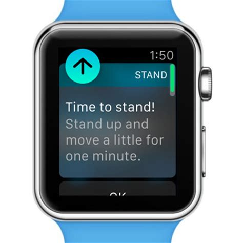 Apple Watch Time To Stand Notifications | iPhoneTricks.org