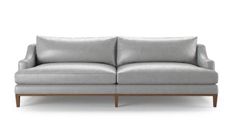 cost of leather sofa price leather sofa by joybird