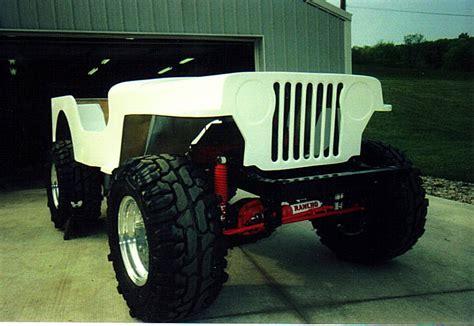 Fiberglass Jeep Willys Jeep Fiberglass Tub
