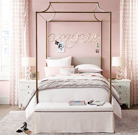 teen canopy bed rh teen s cecily canopy bed with its distinctive graceful