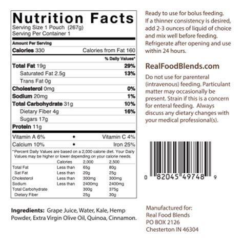 feeding tube meals: blenderized tube feeding | real food