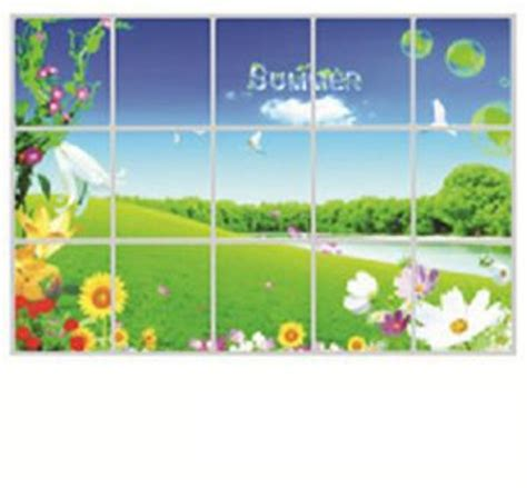 stiker wallpaper dinding dapur jual stiker wallpaper dinding dapur motif pemandangan