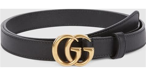 Gucci Leather G White gucci leather belt with g buckle in metallic lyst
