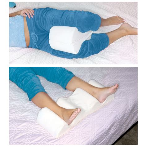 Pillows For Knees by Leg Wedge Pillow Memory Foam Contour Leg Pillow That