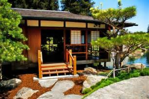 Asian Homes by Japanese Tea House Zen Garden Pinterest