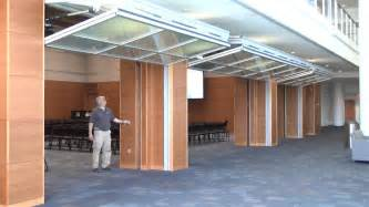 Overhead Bifold Doors Hydrau Lift Bifold Doors From Hufcor Duke